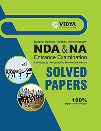 9789350664186: Nda / Na Entrance Exam Solved Papers