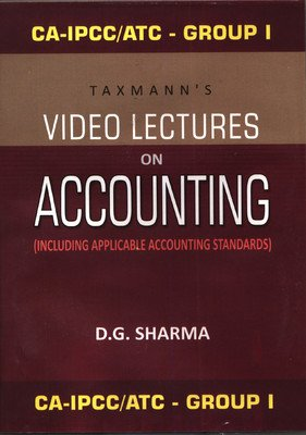 CA-IPCC/ATC Group I Video Lectures on Accounting (Including Applicable Accounting Standards): ...