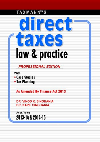 9789350712283: Direct Taxes Law & Practice