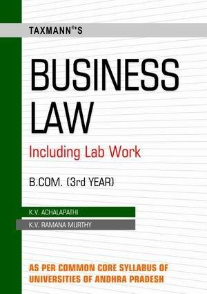 Business Law (B.Com-Iiird Year): K V Achalapathi