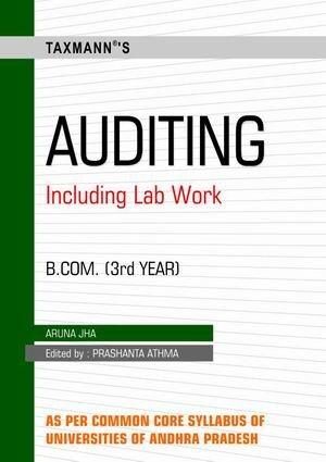 Auditing (B.Com-Iiird Year): Aruna Jha