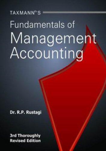 9789350713051: Fundamentals Of Management Accounting