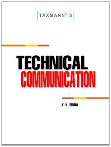 Technical Communication: K.K. Sinha