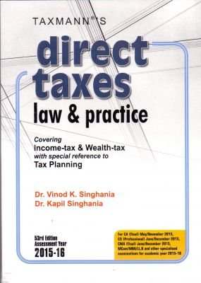 9789350715765: Direct Taxes Law and Practice
