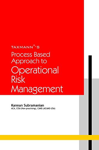 9789350716250: Process Based Approach to Operational Risk Management