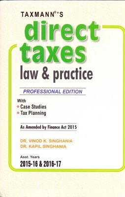 9789350716748: Direct Taxes Law & Practice