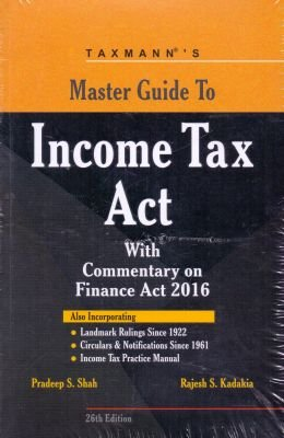 9789350718872: Master Guide to Income Tax Act