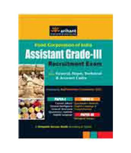 9789350751947: Food Corporation of India (FCI) Assistant Grade-III Recruitment Exam for General, Depot, Technical and Account Cadre (Paper - 1, 2 & 3)
