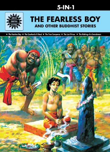 9789350850732: The Fearless Boy And Other Buddhist Stories: 5 In 1 (Amar Chitra Katha)