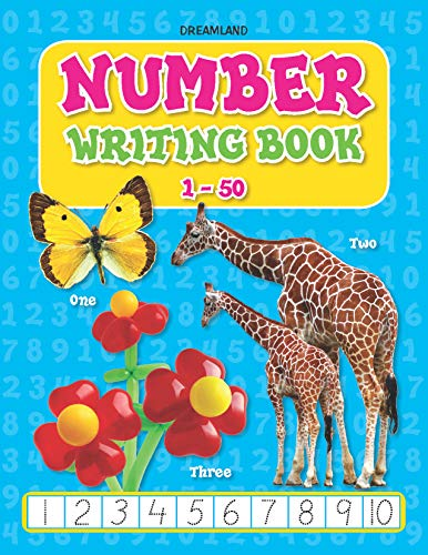 9789350893098: Number Writing Book 1-50