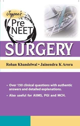 Jaypee's Pre Neet Surgery: Arora Jainendra K.