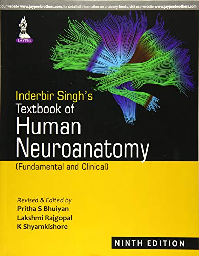 9789350905296: Inderbir Singh's Textbook of Human Neuroanatomy: Fundamental and Clinical
