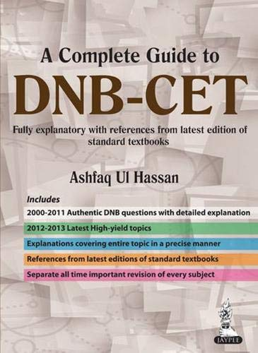 A Complete Guide to DNB?CET: Hassan Ashfaq Ul