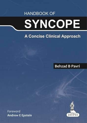 9789350909539: Handbook of Syncope: A Concise Clinical Approach