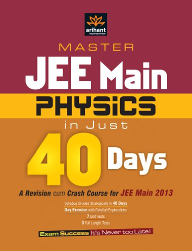 Master JEE Main 2013 Physics in Just: Saurabh A.