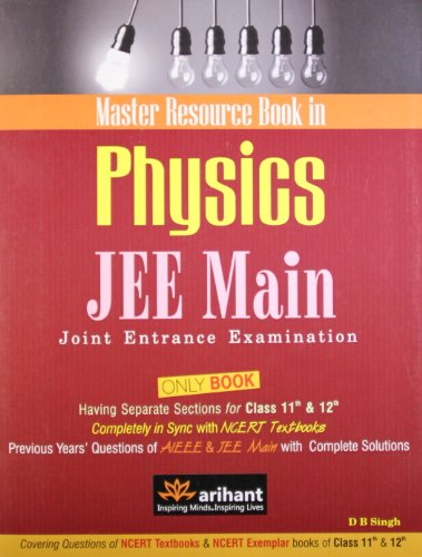 A Master Resource Book in Physics JEE: D.B. Singh