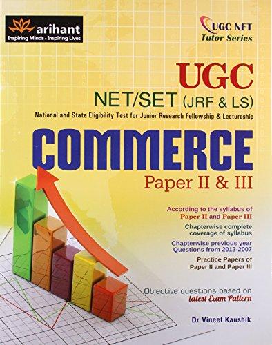 9789350949139: Ugc Net/Set (Jrf & Ls) Commerce Paper Ii & Iii