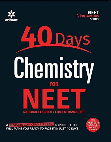 9789350949528: 40 Days Chemistry for NEET
