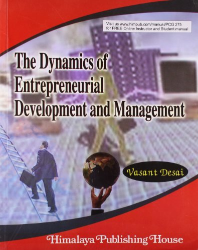9789350970287: Dynamics Of Entrepreneurial Development And Management