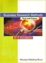 Business Research Methods: Karunakaran, K.