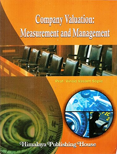 Company Valuation: Measurement and Management: Sople, Vinod V.