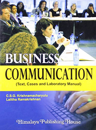 Business Communication: Krishnamacharyulu, C.S.G.