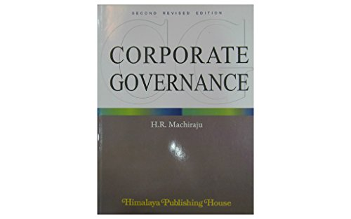 Corporate Governance: Machiraju, H.R.