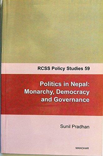 RCSS Policy Studies 59: Politics in Nepal: Sunil Pradhan
