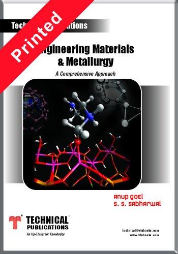 Engineering Materials and Metallurgy: Anup Goel,S.S. Sabharwal