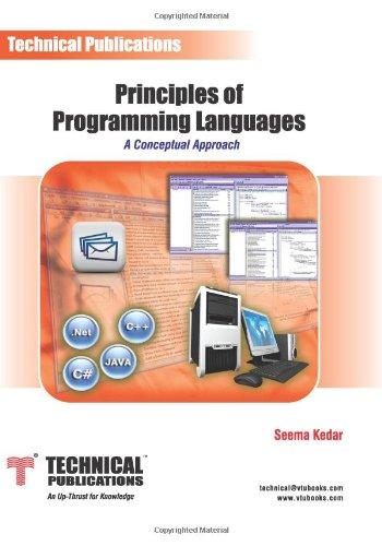 Principles of Programming Language: Seema Kedar