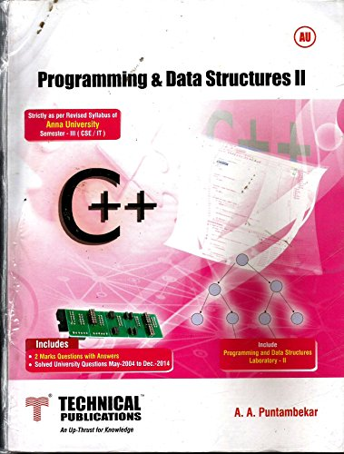 Programming and Data Structure II for ANNA: A.A. Puntambekar
