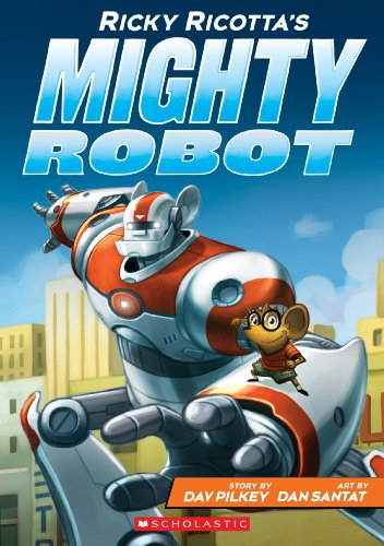 9789351032243: Ricky Ricottas Mighty Robot