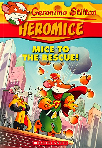 9789351033721: Geronimo Stilton Heromice: Mice of The Rescue - 1