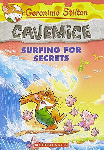 9789351039075: Geronimo Stilton Cavemice #8: Surfing for Secrets