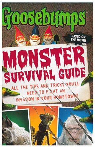 9789351039778: Goosebumps The Movie: Monster Survival Guide