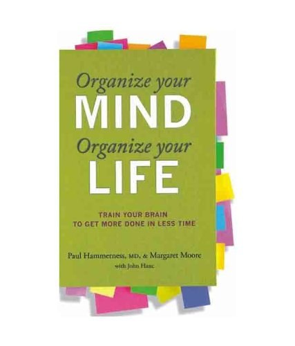 9789351060642: ORGANIZE YOUR MIND, ORGANIZE YOUR LIFE