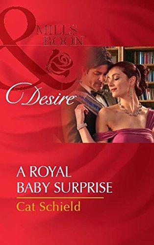 9789351068471: A Royal Baby Surprise (Desire)