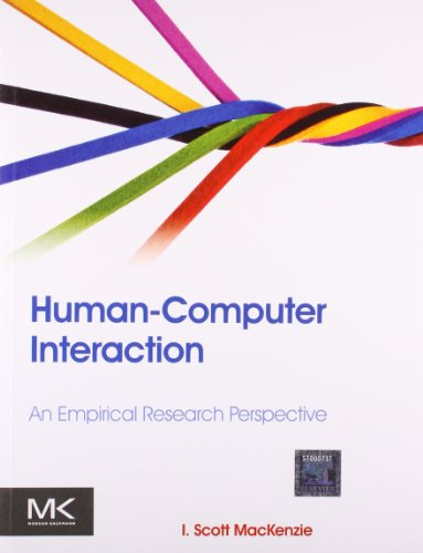 9789351070337: Human-computer Interaction An Empirical Research Perspective