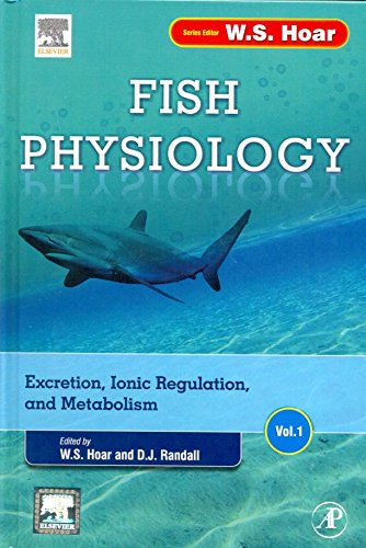 9789351071464: Fish Physiology (Set of 32 Volumes)