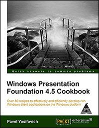 9789351100645: Windows Presentation Foundation 4.5 Cookbook