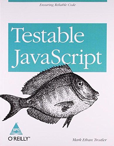9789351100881: Testable JavaScript