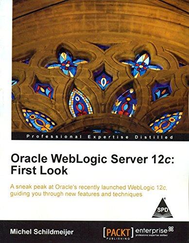 9789351100935: Oracle WebLogic Server 12c: First Look