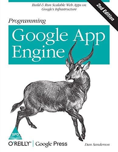 9789351101369: Programming Google App Engine