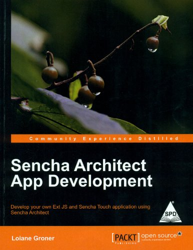 9789351102601: Sencha Architect App Development
