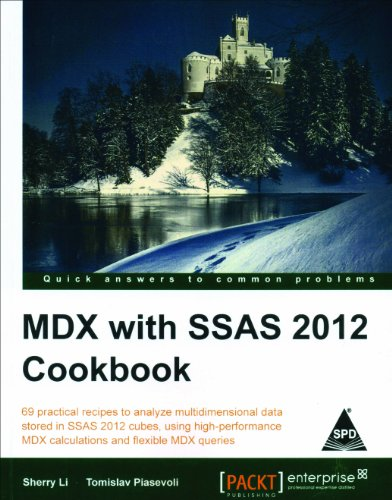 9789351102847: MDX with SSAS 2012 Cookbook
