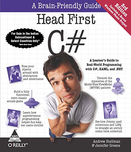9789351103530: Head First C#, 3Rd Edition: A Learner's Guide To Real-World Programming With C#, Xaml, And .Net [Paperback] STELLMAN