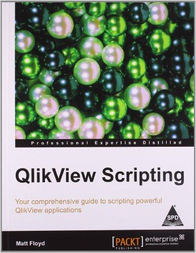 9789351104070: QlikView Scripting