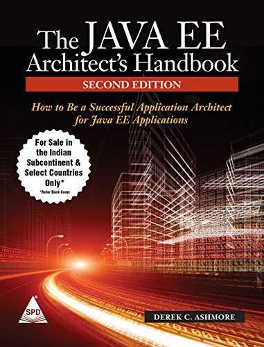 9789351104865: Java EE Architect's Handbook