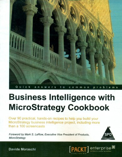 9789351105107: Business Intelligence with Microstrategy Cookbook