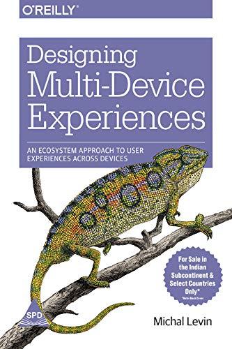 9789351105206: Designing Multi-Device Experiences